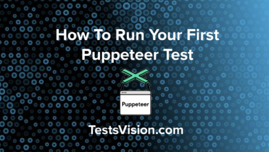 How To Run Your First Puppeteer Test